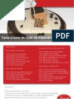 Tarta Crema de Café de Colombia