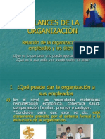 Balances de La Organizaion
