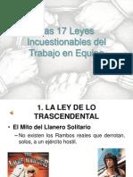 17 Leyes Incuestionables Para El Trabajo en Equipo 1221149766621350 8 101105125415 Phpapp02