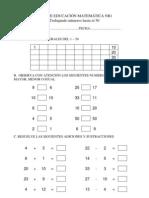 Guia de Educacion Matematica Nb1 Trabajando Numeros Hasta El 50