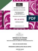 Bellas Artes 11 2013