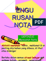 Teknik Mencatat Nota