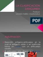 Clase Clasificacion Sanguinea