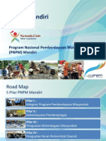 Roadmap Program Nasional Pemberdayaan Masyarakat (PNPM) Mandiri