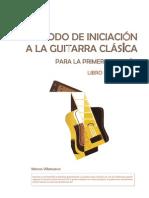 Método de iniciación a la guitarra clásica - Libro del alumno (1)