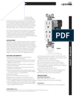 Leviton VRR15-1LZ Product Specification Bulletin