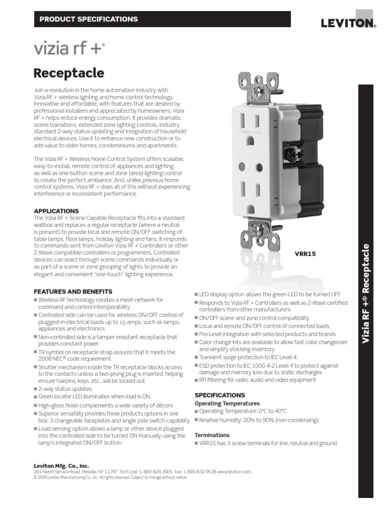 Funky Leviton Manufacturing Company Pattern - Diagram Wiring Ideas ...