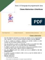 Cap3 PDP Java Abstract Class Interface