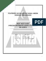 Minit Mesyuarat Bil 3 2012