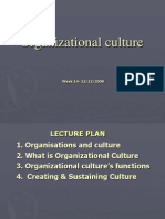 12-OB Chapter 9 Organizational Culture