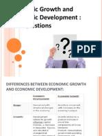 Economic Growth Ppt