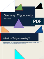geometry- sem1 essay