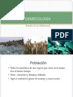 IV. DEMECOLOGÍA