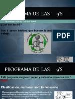 Programa de  Las      9's