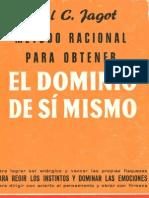 Paul Jagot - El Dominio de Sí Mismo