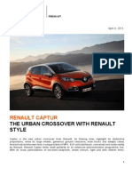 Renault Captur Press Kit