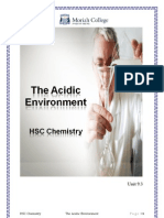 9.3 Acidic Environment Booklet