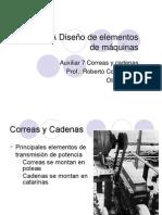 Correas y Poleas en V