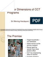 Gender Dimensions of CCT Programs