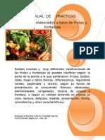 Manual de Practias Frutas y Hortalizas ^^