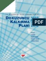 DokuzuncuKalkinmaPlani2007-2013