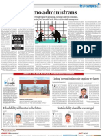 Homoadministrans The Financial Express October 4, 2010