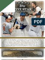 Five Star Baseball Preview 2013 - Hobby