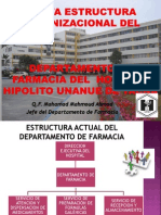 Nueva Estructura Farmacia Hospitalaria