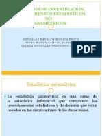 Diseño de investigación, pruebas estadisticas no paramétricas.