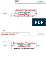 An excellent Powerpoint template