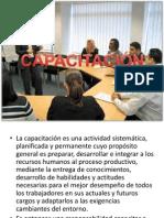 CAPACITACIÓN presentación