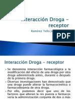 7749205 Farmacologia Interaccion Droga Receptor