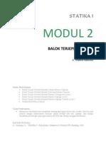 Modul 2 Balok Terjepit Sebelah e Book Mantep