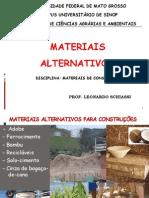 Materiais Alternativos_Prof. Leonardo
