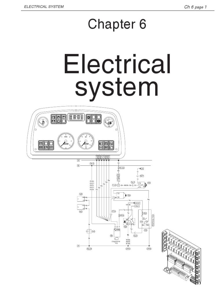 6 electrical system 710655 electrical connector battery rh es scribd com Ford Alternator Wiring Diagram GM Alternator Wiring Diagram