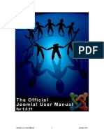 The official joomla user_manual_v1 0 1_10 21 06
