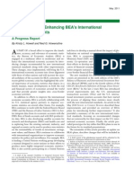 Modernizing and Enhancing BEA's International