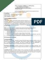 Guia y Rubrica Tarea de Reconocimiento .Diseno de Proyectos Sociales.2013 I