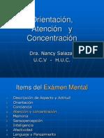 Atención, concentracioón y orientación