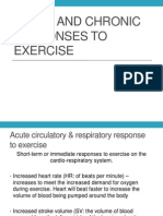 Wk3 Slideshow Acute Responses to Exercise