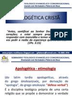 APOLOGÉTICA CRISTÃ stec