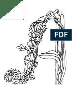 Alfabeto Flores Coloring Book