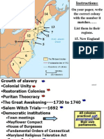 Colonial Society and Democratic Growth