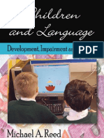 Children Language Development Impairment Amp Training