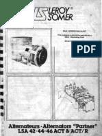 Leroy Somer DALE Generator
