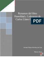 Resumen Del Libro Humildad y Liderazgo - Carlos Llano Cifuentes