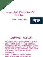 Agama+Dan+Perubahan+Sosial 2