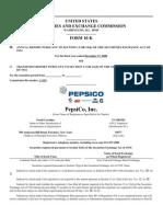 PepsiCo Case Material 2009
