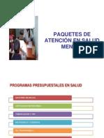Paquetes de Atencion DEVIDA 2013