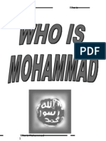 Who is Mohammad (peace and plessings be upon him)